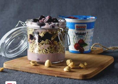 Cherry Yogurt Parfait
