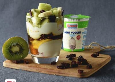 Kiwi Yogurt Parfait