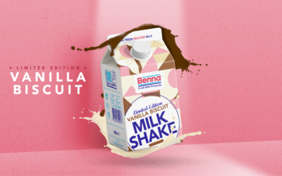 New Limited Edition Vanilla Biscuit Milkshake!
