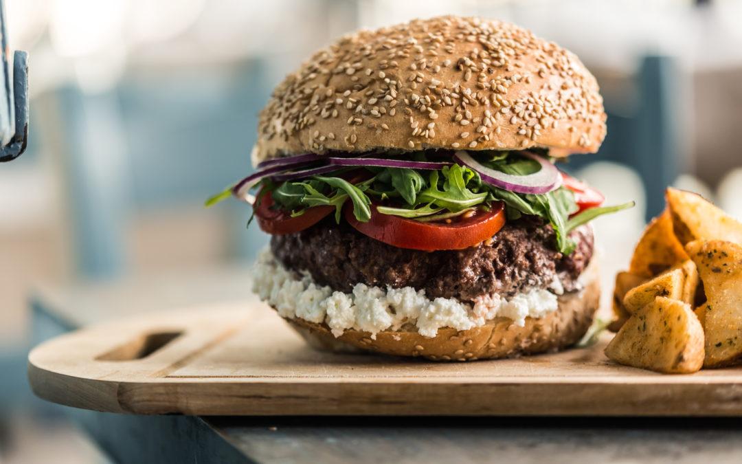 Beef Burger with Benna Irkotta
