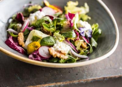 Irkotta and Walnut Salad