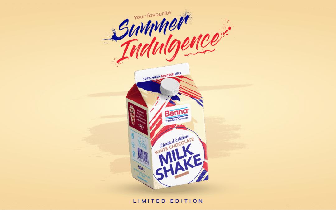 New White Chocolate Limited Edition Milkshake!
