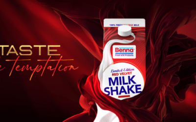 New Red Velvet Limited Edition Milkshake