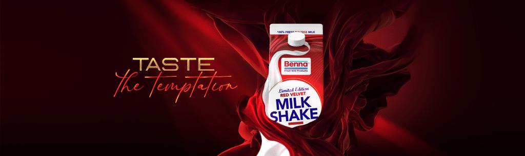 New Red Velvet Limited Edition Milkshake
